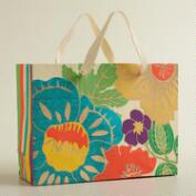 Large Oversized Floral Handmade Gift Bag