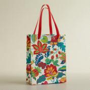 Small White Henry Floral Handmade Gift Bag