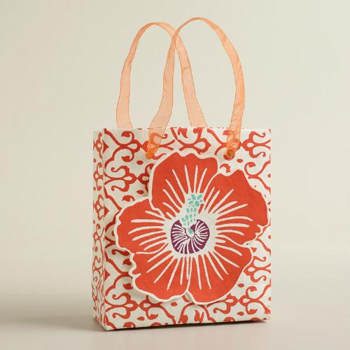Mini Tip-On Flower Handmade Gift Bag