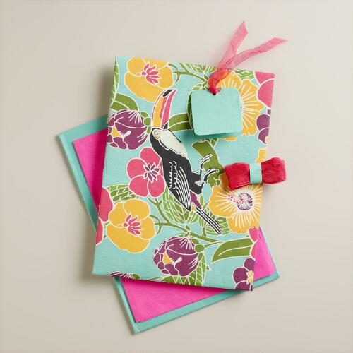 Toucan Fabric Gift Box Kit