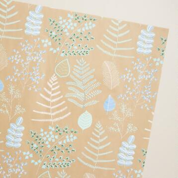 Lakeside Leaves Handmade Gift Wrap