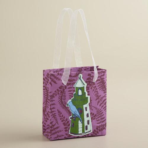 Mini Deep Purple Kelp Handmade Gift Bag