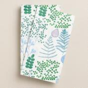 Lakeside Leaves Guest Napkins, 20-Count