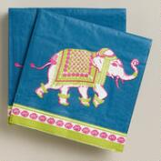 Elephant Beverage Napkins, 20-Count