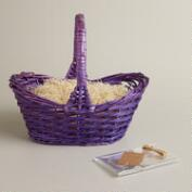 Lupine Purple Easter Gift Basket Kit
