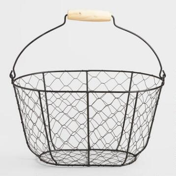Wire Farmhouse Basket