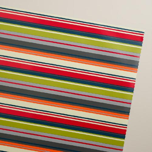 Hip Stripe Gift Wrap Roll