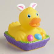 Easter Bunny Ears Rubber Duck