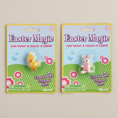 Magic Growing Easter Animals, Set of 2