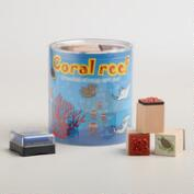 Coral Reef Stamp Set