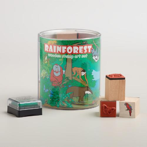 Rainforest Stamp Set