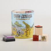 Wild Animal Stamp Set