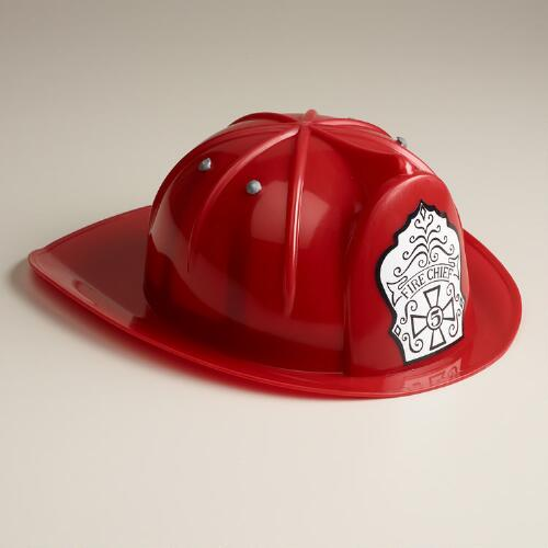 Toy Fire Chief Helmet