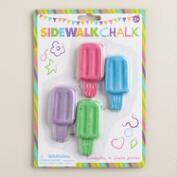 Popsicle Sidewalk Chalk