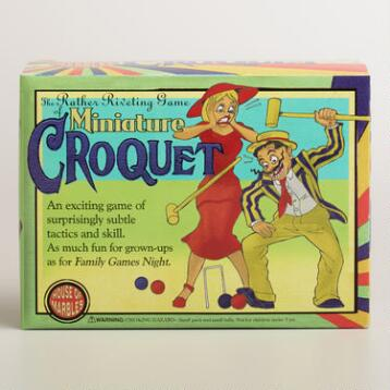 Miniature Croquet