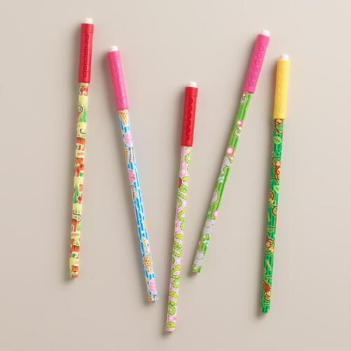 Scented Smelly Pencils, Set of 5