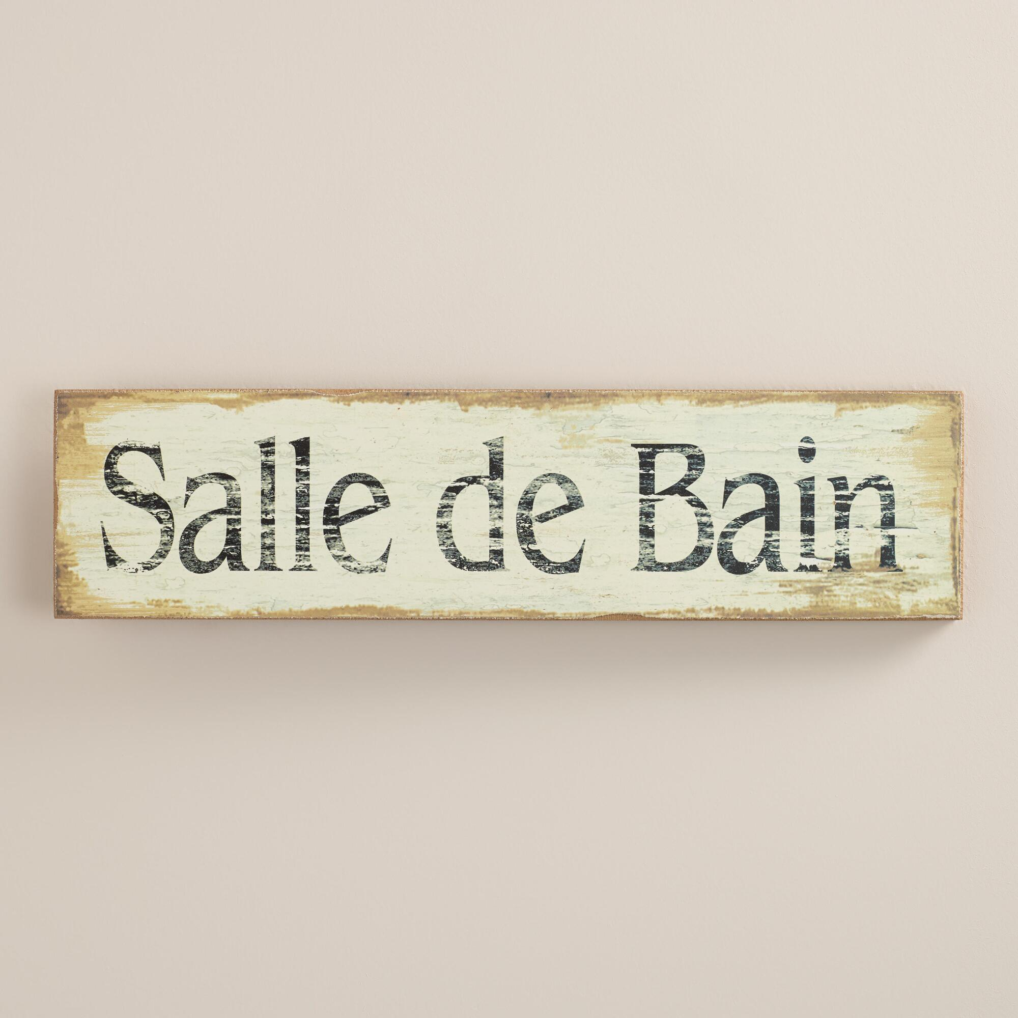 salle de bain wall art world market