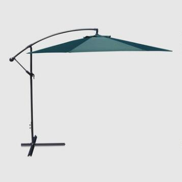 10' Green Cantilever Umbrella