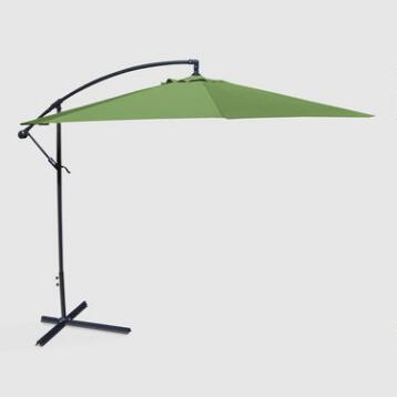 10' Olive Cantilever Umbrella