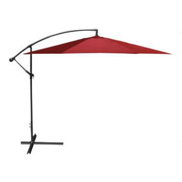 10' Red Cantilever Umbrella