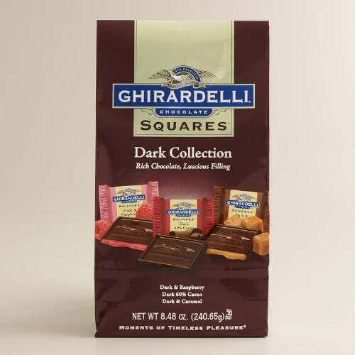 Ghirardelli Dark Chocolate Assorted Squares Bag