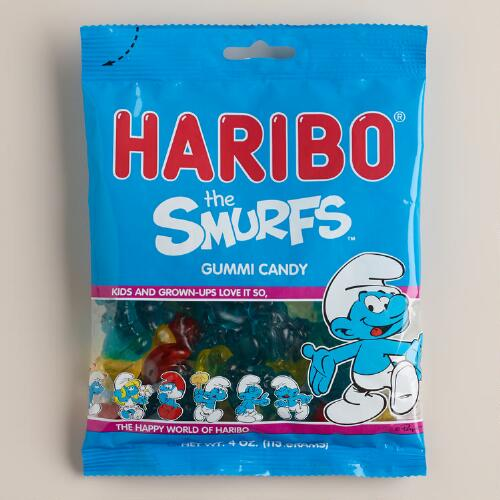 Haribo Smurfs Gummies, Set of 12