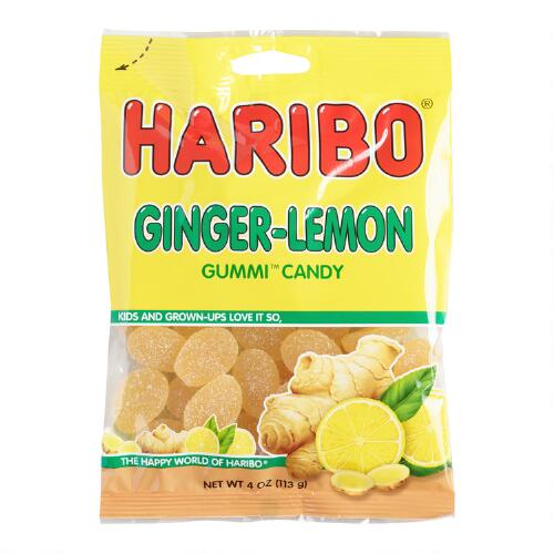 Haribo Ginger Lemon Gummies, Set of 12