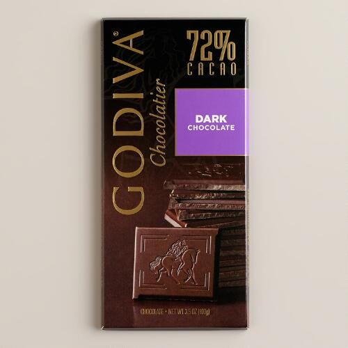 Godiva 72% Dark Chocolate Bar