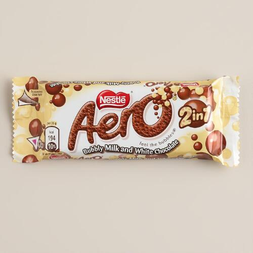 Nestle Aero Milk and White Chocolate Bar