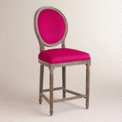 Fuchsia Paige Counter Stool