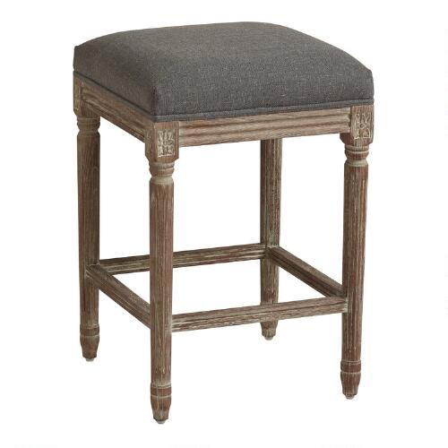 Peacock Paige Backless Counter Stool