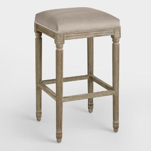 Cocoa Paige Backless Barstool