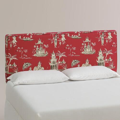 Pagoda Road Loran Upholstered Headboard