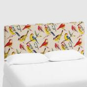Bird Watcher Loran Upholstered Headboard