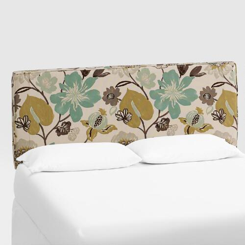 Gorgeous Pearl Loran Upholstered Headboard