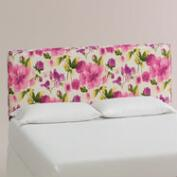 Raspberry Rosie Loran Upholstered Headboard