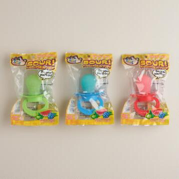 Sour Pacifier Pops, Set of 3