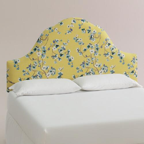 Green Tea Sakura Elsie Upholstered Headboard