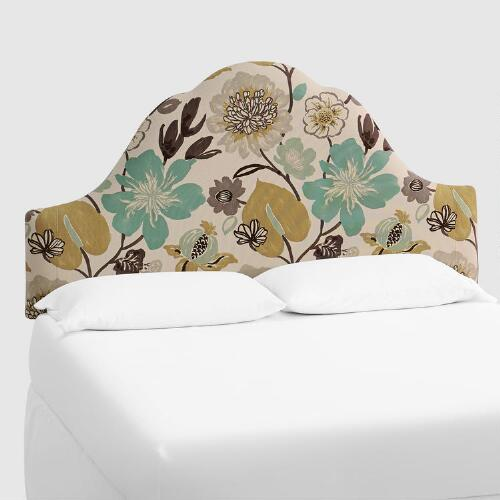 Gorgeous Pearl Elsie Upholstered Headboard
