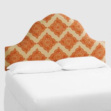 Terracotta Mani Elsie Upholstered Headboard