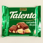 Garoto Talento Milk Chocolate Bar with Brazil Nuts