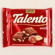 Garoto Talento Milk Chocolate Bar with Hazelnuts