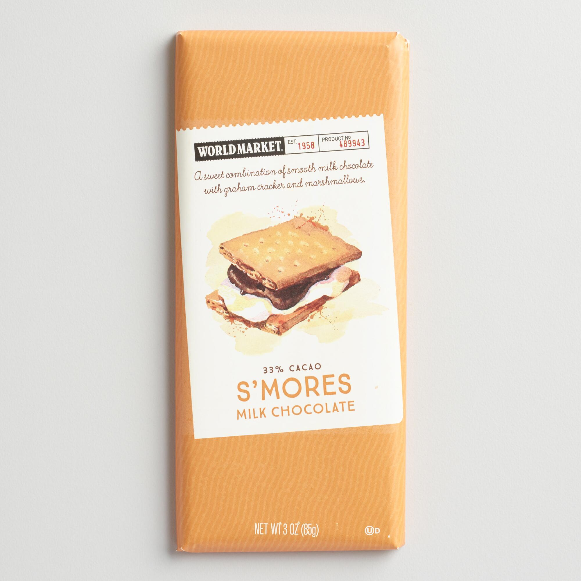 World Market® S'mores Chocolate Bar, Set of 2 | World Market