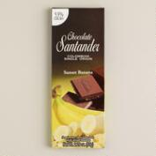 Santander 53% Chocolate Bar with Banana