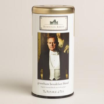 The Republic of Tea Downton Abbey Grantham Breakfast Tea