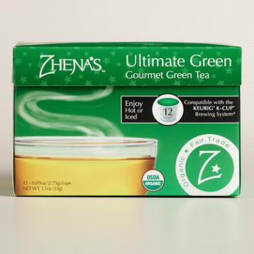 Zhena's Gypsy Tea Ultimate Green Tea Single Serve Cups