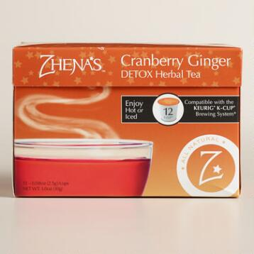 Zhena's Daily Detox Tea Single Serve Cups