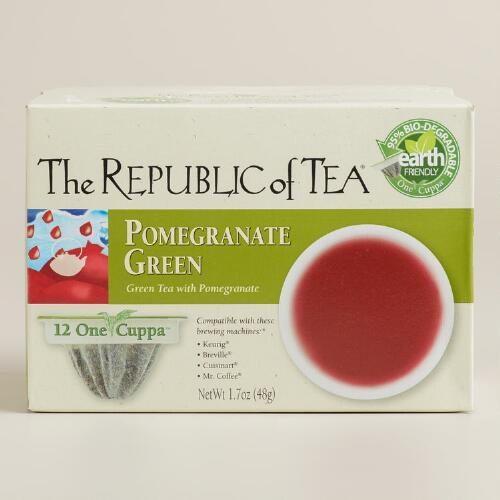 The Republic of Tea Pomegranate Green One Cuppa Tea