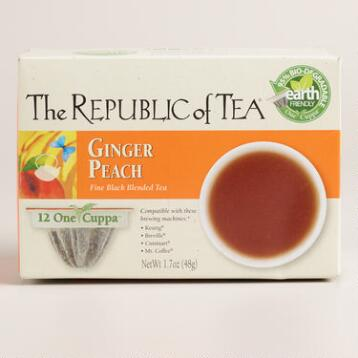 The Republic of Tea Ginger Peach One Cuppa Tea