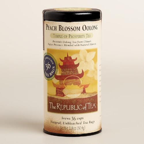 The Republic of Tea Peach Blossom Oolong Tea